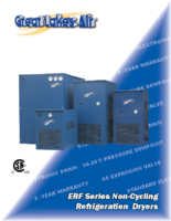 ERF Series Non-Cycling Refrigeration Dryers