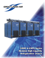 GMRF & GMTX Series Modular High Capacity Refrigeration Dryers