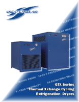 GTX Series Thermal Xchange Cycling Refrigeration Dryers